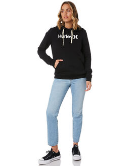 BLACK WOMENS CLOTHING HURLEY JUMPERS - CI9431010