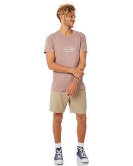 PALE MAUVE MENS CLOTHING BANKS TEES - WTS0285PMV