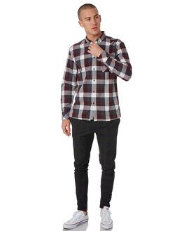 MIDNIGHT CHECK MENS CLOTHING ZANEROBE PANTS - 704-METMIDCH