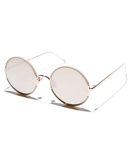 BLUSH WOMENS ACCESSORIES SUNDAY SOMEWHERE SUNGLASSES - SUN037-BLS
