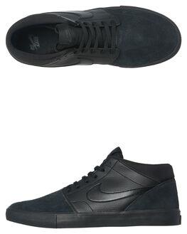 BLACK BLACK MENS FOOTWEAR NIKE SKATE SHOES - 923198-001