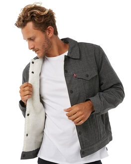 MINERAL HEATHER MENS CLOTHING OUTERKNOWN JACKETS - 34985MHT