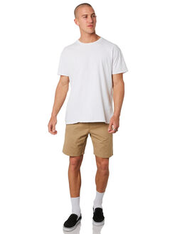 KHAKI MENS CLOTHING DEPACTUS BOARDSHORTS - D5201233KHAKI