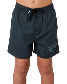 BLACK KIDS BOYS RIP CURL BOARDSHORTS - KBOVZ30090