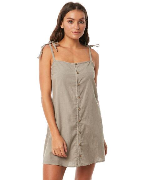 OAK GREEN WOMENS CLOTHING O'NEILL DRESSES - 4721608-OGR