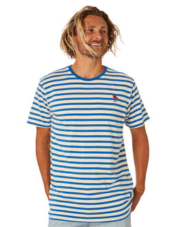 MID BLUE MENS CLOTHING SWELL TEES - S5202003MIDBL