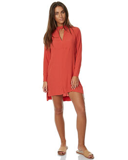BAKED APPLE WOMENS CLOTHING RUSTY DRESSES - DRL0850BAPL