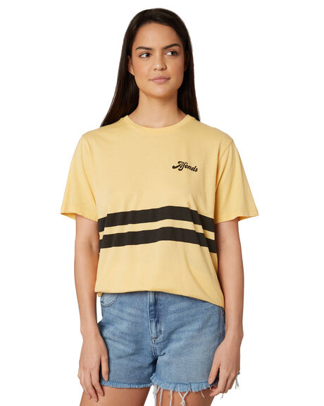 MELLOW WOMENS CLOTHING AFENDS TEES - W191002MEL