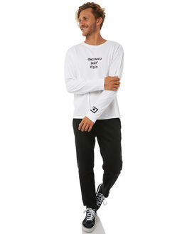 WHITE MENS CLOTHING OAKLAND SURF CLUB TEES - F17-113-WHTWHT