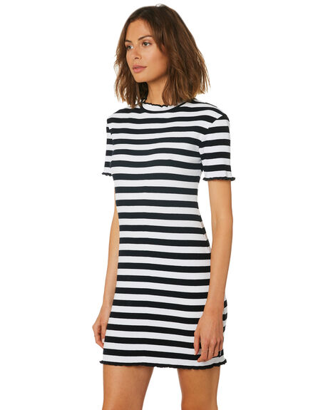 BLACK WOMENS CLOTHING AFENDS DRESSES - W191810BLK