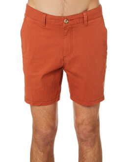 RUST MENS CLOTHING MCTAVISH SHORTS - MSP-19WS-01RUST