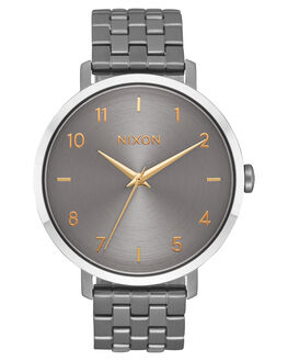 GUNMETAL SILVER GOLD UNISEX ADULTS NIXON WATCHES - A10902765