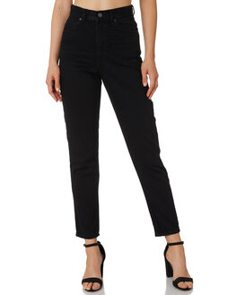 BLACK WOMENS CLOTHING DR DENIM JEANS - 1430113-101