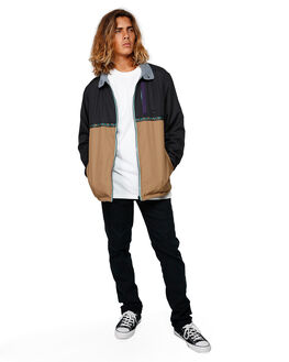 BLACK MENS CLOTHING BILLABONG JACKETS - BB-9591915-BLK