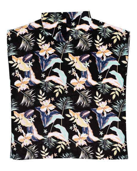 ANTHRACITE PRASLIN WOMENS ACCESSORIES ROXY TOWELS - ERJAA03827-KVJ7