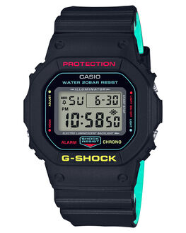 BLACK MENS ACCESSORIES G SHOCK WATCHES - DW5600CMB-1DBLK