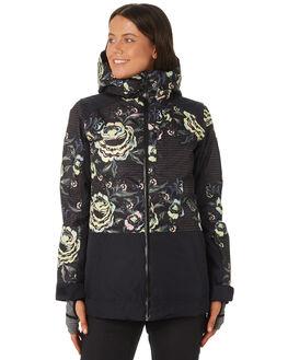 TRUE BLACK TORA ROSE BOARDSPORTS SNOW ROXY WOMENS - ERJTJ03163KVJ1