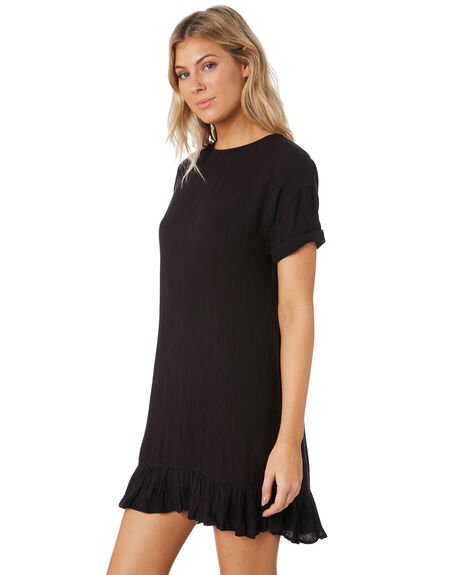 BLACK WOMENS CLOTHING SWELL DRESSES - S8202446PLUM