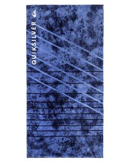 SILVER LAKE BLUE MENS ACCESSORIES QUIKSILVER TOWELS - EQYAA03602BJQ0