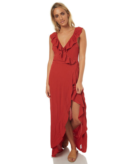 RUST OUTLET WOMENS SWELL DRESSES - S8171458RUST