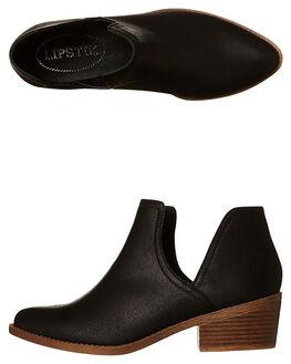 BLACK WOMENS FOOTWEAR LIPSTIK BOOTS - TARABLK