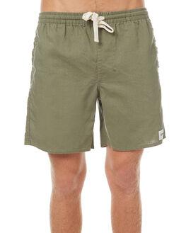 OLIVE MENS CLOTHING RHYTHM SHORTS - OCT17M-JM02-OLI