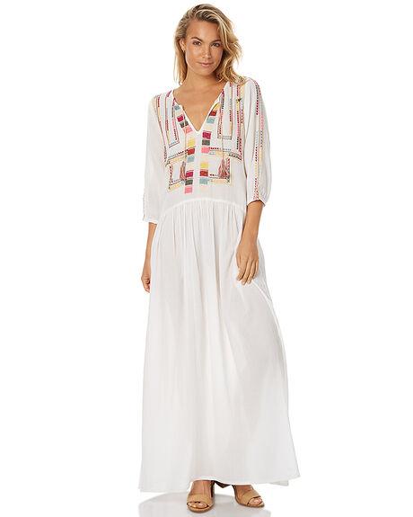 WHITE WOMENS CLOTHING TIGERLILY DRESSES - T375415WHT