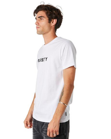 WHITE MENS CLOTHING RUSTY TEES - TTM2304WHT