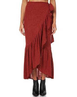 CHILLI POWDER WOMENS CLOTHING RUE STIIC SKIRTS - CC09CHI