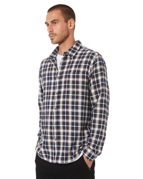 DARK SAPPHIRE MENS CLOTHING RUSTY SHIRTS - WSM0992DRS