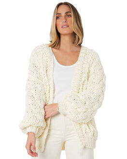 CREAM WOMENS CLOTHING MINKPINK KNITS + CARDIGANS - MP1910815CREAM