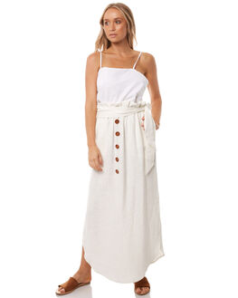 WHITE WOMENS CLOTHING WILDE WILLOW SKIRTS - K358-2WHT