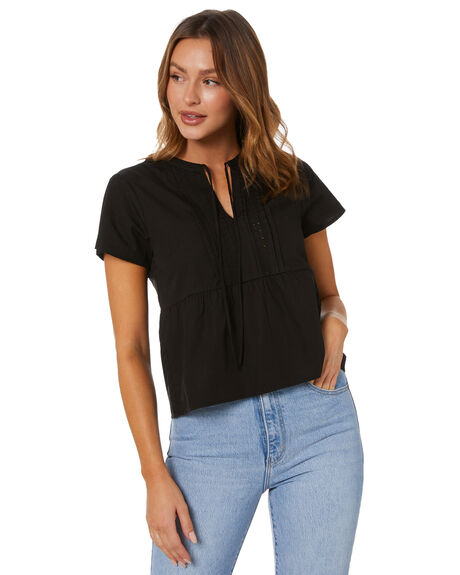 MIDNIGHT WOMENS CLOTHING SWELL FASHION TOPS - S8214169MDNGT