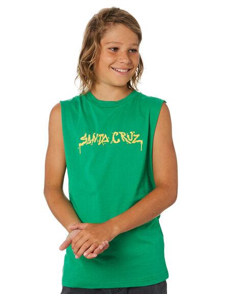 KELLY KIDS BOYS SANTA CRUZ TOPS - SC-YTA0338KEL