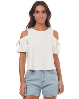 WHITE WOMENS CLOTHING SWELL FASHION TOPS - S8171166WHITE