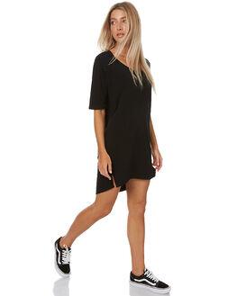 BLACK WOMENS CLOTHING SWELL DRESSES - S8161460BLACK