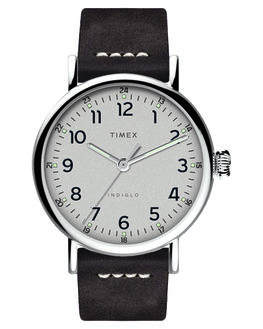 SILVER BROWN MENS ACCESSORIES TIMEX WATCHES - TW2T69400SILBR