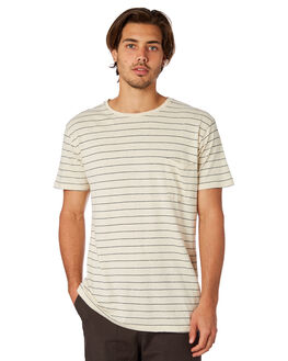 NATURAL MENS CLOTHING MOLLUSK TEES - MS1356NAT