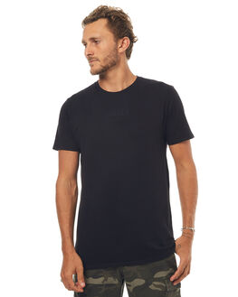 WASHED BLACK MENS CLOTHING SWELL TEES - S5171009WSHBK