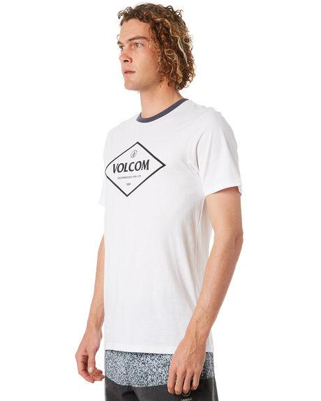WHITE MENS CLOTHING VOLCOM TEES - A5031873WHT