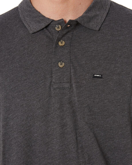 CHARCOAL MARLE MENS CLOTHING O'NEILL SHIRTS - 7A24020905