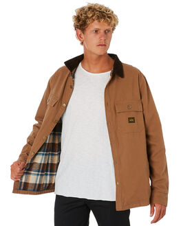 CARAMEL MENS CLOTHING DEPACTUS JACKETS - D5203381CARML
