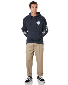 NAVY HEATHER MENS CLOTHING SALTY CREW JUMPERS - 20335082NVYH