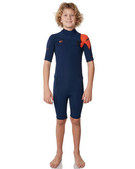NAVY NAVY RED SURF WETSUITS O'NEILL SPRINGSUITS - 4783CU2