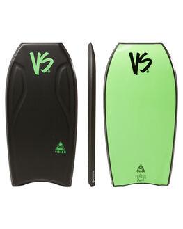 BLACK GREEN BOARDSPORTS SURF VS BODYBOARDS BOARDS - V18VISION41GRBLKGN