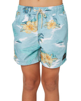 BLUE KIDS BOYS RIP CURL SHORTS - KBOMX10070