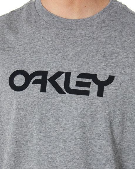 NEW GRANITE HEATHER MENS CLOTHING OAKLEY TEES - FOA40052128B