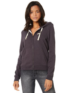 OIL GREY WOMENS CLOTHING HURLEY JUMPERS - AT5822013