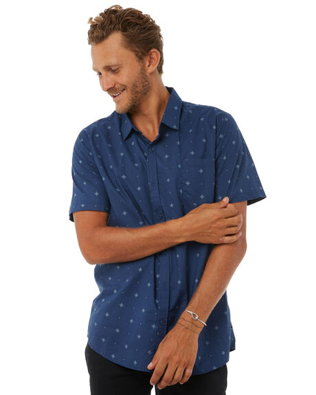 NAVY MENS CLOTHING SWELL SHIRTS - S5183168NAVY