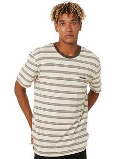 NATURAL STRIPE MENS CLOTHING WRANGLER TEES - 901763AL7